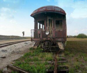Den gamle togvogn